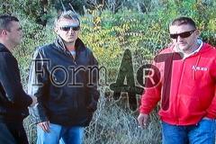 Gleđ, Koprivica i Antunović na mjestu pogibije Hamdije Kovača i Marija Pezzija