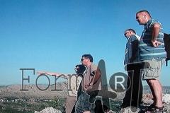 S brda Parež dobro se vidi prostor oko Ivanice, uporišta JNA iz kojeg se kretalo u napad na Dubrovnik