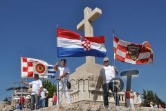 Svake godine pripadnici Omiške bojne koji su boravili u Dubrovniku dolaze se prisjetiti ratnih dana i poginulih hrvatskih branitelja i civila. (foto: Borko Gunjača)