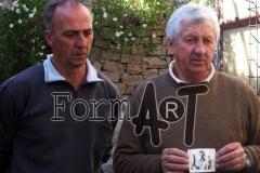 Antun Šabadin i Nikša Miloslavić koji se nalazi na slici koju je napravio poginuli dubrovački fotograf Pavo Urban nakon prvih napada na područje Župe dubrovačke