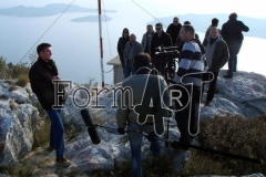 Na vidikovcu kod sela Dubravica s pogledom na Elafite