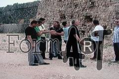 Dio pripadnika Samostalnog voda ispred tvrđave Imperial na Srđu