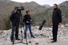 Pripadnici metkovske satnije ZNG-a poslani su u pomoć Slanom uoči pada, na slici Trpimir Sušak