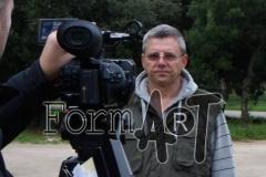 Janez Emeršić objašnjava kako se postrojba okupila u auto kampu