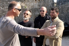 O ratnim događajima podsjećaju se Niko Zec, Dobroslav Kostić, Mato Matić i Rikard Milun
